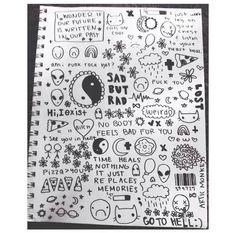 Afbeelding via We Heart It https://weheartit.com/entry/160812003/via/2464781 #alternative #art #bands #blackandwhite #doodle #draw #grunge #sketch #sketchbook #tumblr #doodling