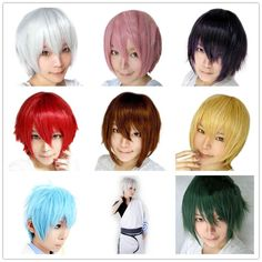 16 Colors Anime Tokyo Ghoul Kaneki Ken White Short Cospay Wig Men Male Synthetic Wigs Halloween Pelucas Peruca-in Synthetic Wigs from Health & Beauty on Aliexpress.com | Alibaba Group