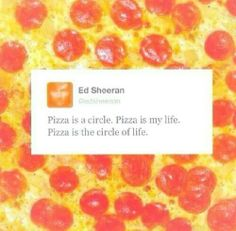 Ed Sheeran understands life better than the Lion King! He's so intelligently…