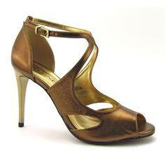calçados cor bronze - Pesquisa Google