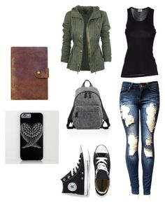 """Outfit"" by kb-galaxy ❤ liked on Polyvore featuring Converse, Marc Jacobs and Rear View Prints"
