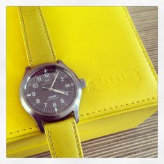 Mellow Yellow IWC Mark XII for Saab - a rare and collectible piece