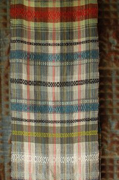 handwoven hemp, linen, cotton, silk