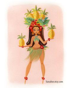 Pineapple Pinup
