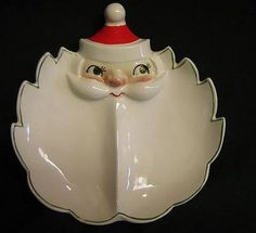 Holt Howard 1959 Santa Candy Dish. I used to own one of these, but it got broken. Sigh.