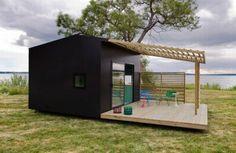 Mini casa ecosostenible.
