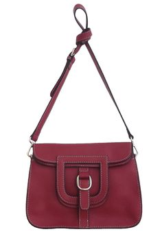 Burgundy Colour Tote Bag with Metal Buckle Detail Bordeaux, Cross Shoulder Bags, Burgundy Color, Metal Buckles, Hermes Birkin, Suspenders, Fashion Bags, Michael Kors, Tote Bag
