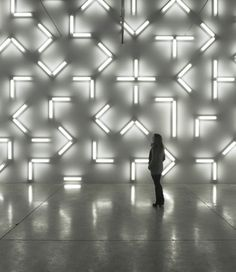 Robert Irwin, LIght and Space at the Museum of Contemporary Art, San Diego Art Fou, Arte Yin Yang, Light Art Installation, Art Installations, Instalation Art, Light And Space, Expositions, Environmental Design, Stage Design