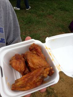 Wings from Wingzza Food Truck Charlotte, NC