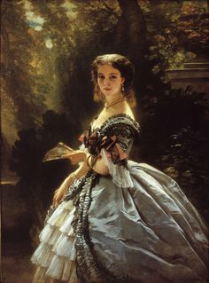 Franz Xaver Winterhalter (1805-1873) was a German painter and lithographer, known for his portraits of royalty in the mid-nineteenth century.