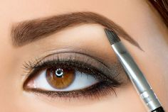Types of brow products Gel: Gel is ideal for brows that won't budge with ultimate brow-sculpting control. If you would like to cover unwanted grey hair, use a tinted gel. Apply after powder or pencil. Wax: Wax is less stiff than gel, so it creates a more natural effect. http://www.rxskincenter.com/search?q=brow