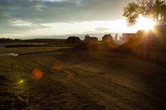 Sunset on Little Neck, Ipswich, MA, 2012.  Photo, Nancy Priest.