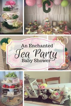 Enchanted Tea Party Baby Shower                                                                                                                                                                                 More