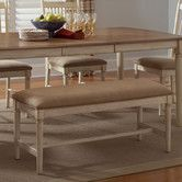 Found it at Wayfair - Cottage Cove Upholstered Kitchen Bench