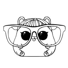 LOL Pets Coloring Pages Printable