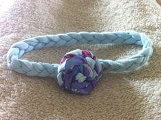 Beyond Appearances: Tee to Headband : Newborn headband from recycled t-shirt