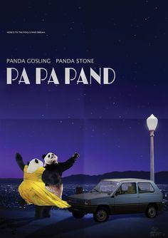Non si p̶a̶n̶d̶a̶ parla d'altro #lalaland #panda