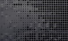 wall with perforation pattern | Flickr - Photo Sharing!