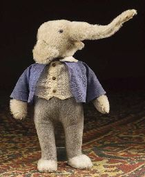 A rare Steiff Doll Elephant Well, you can't really see your own, but you can make a replica