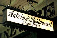 Antoine's! www.antoines.com