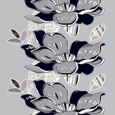 Vallila X Naistenpankki - Rumba col.5 grey by Saara Eklund - Vallila Interior '13