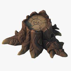 max cartoon stump