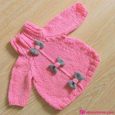 Kız Bebek Örgü Hırka Modelleri