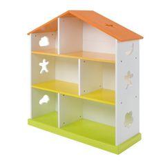 Bibliothèque enfant en forme de maison - Domi