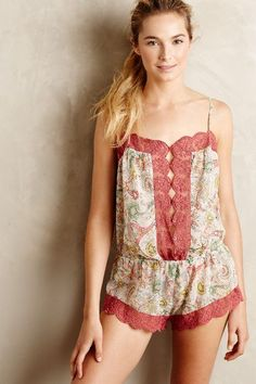 Pamina Laced Romper - #anthrofave