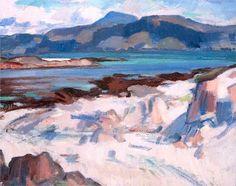 Ben More from Martyrs Bay, Iona - Peploe Samuel