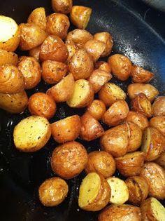 Garlic Butter Pan Roasted Potato's