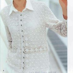 Crochet Knitting Handicraft: cardigan