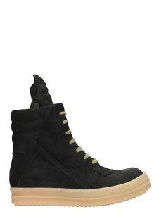 RICK OWENS | Rick Owens Rick Owens Dirt Geobasket Sneakers #Shoes #Sneakers #RICK OWENS
