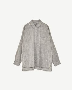 Image 8 of OVERSIZED EMBROIDERED SHIRT from Zara