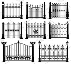 4 Active Cool Tricks: Garden Fence K. can find Minneapolis and more on our Active Cool Tricks: Garden Fence K. Wooden Fence Gate, Brick Fence, Concrete Fence, Front Yard Fence, Farm Fence, Metal Fence, Fenced In Yard, Fence Garden, Brick Columns