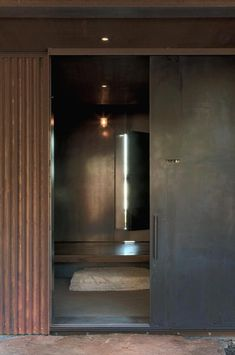 Olson Kundig's shadow house External materials designed to weather, internal materials reclaimed