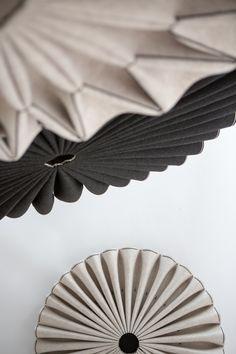 BuzziPleat: Sculptural, Sound Absorbing Forms by 13&9 Design - Design Milk