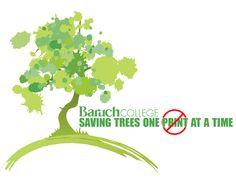 Saving tree logo