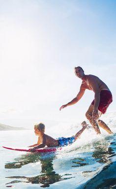 Family fun, Hawaii