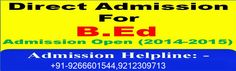 Get complete details regarding Dr. CV Raman University B.Ed 2015-16. Apply now for Dr. CV Raman University B.Ed Admission Eligibility 2015-16.