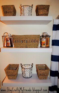 14 DIY Bathroom Storage Ideas