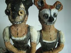 His works creeps me out a little but I still like it.  kerry jameson: Childhood Tales Revisited