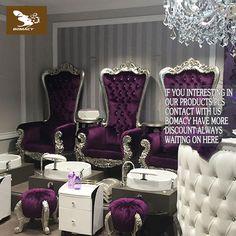 Nail Salon Design, Nail Salon Decor, Beauty Salon Decor, Luxury Spa, Luxury Beauty, Beauty Bar, Gorgeous Hair Salon, Massage Room Design, Kids Salon