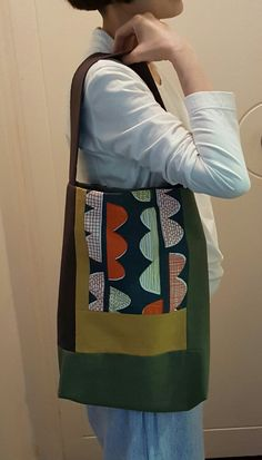 patchwork tote bag @oneatatime01