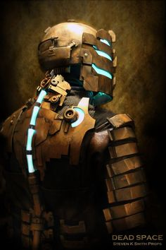 Dead Space: Issac Clarke (Level 3 Suit) by Steven K Smith Props #cosplay [Uh.. is this even real life?]