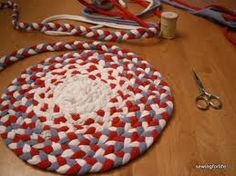 DIY learn how to make T shirt yarn & crochet a basket - Google Search