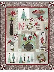 Quilt - Holiday Chic Quilt Pattern - #423654