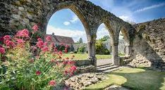 beaulieu abbey - Google Search Sidewalk, Europe, Outdoor Structures, Google Search, Garden, Travel, Garten, Viajes, Lawn And Garden