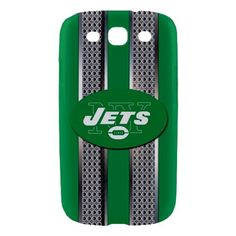 New York Jets Logo Style Metal Samsung Galaxy S3 Hardshell Case Cover
