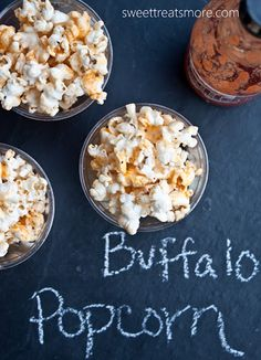 I'm loving this Buffalo Popcorn from @Kristy Denney (Sweet Treats and More). A lighter way to get your buffalo wing fix.